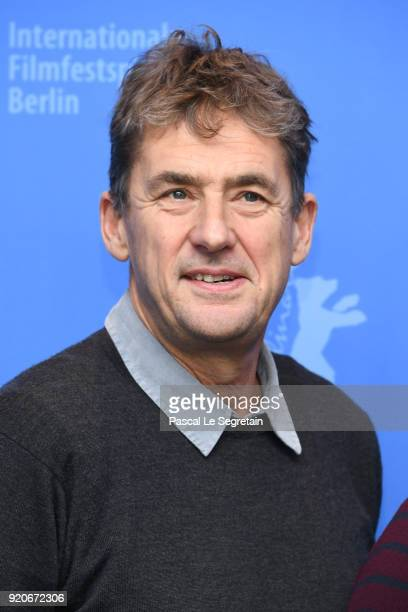 Tim Bevan poses at the '7 Days in Entebbe' photo call during the 68th Berlinale International Film Festival Berlin at Grand Hyatt Hotel on February...