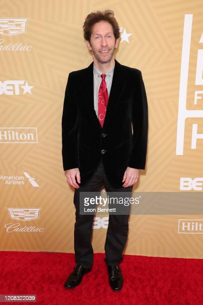 Tim Blake Nelson attends American Black Film Festival Honors Awards Ceremony at The Beverly Hilton Hotel on February 23, 2020 in Beverly Hills,...