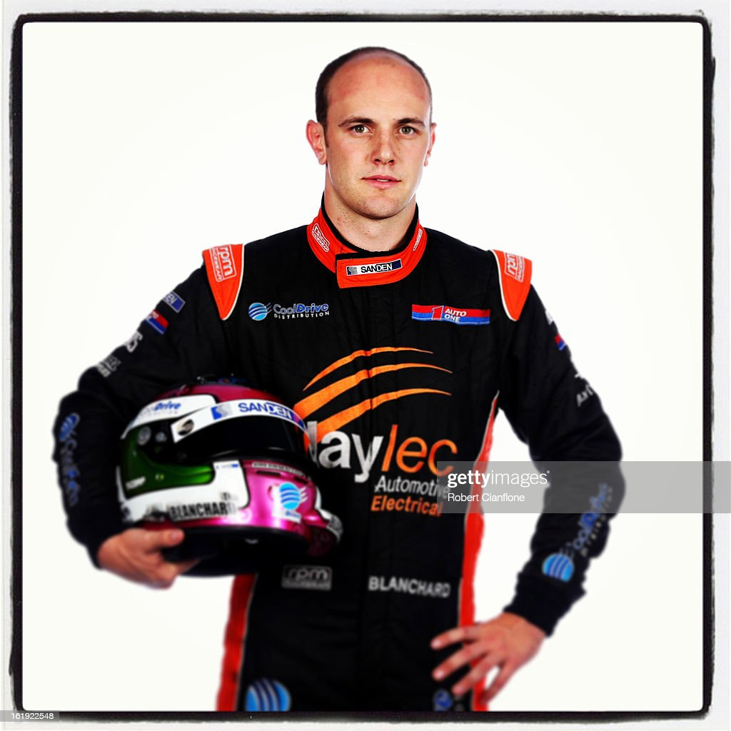 Tim Blanchard of Dick Johnson Racing during a V8 Supercars driver portrait session at Eastern Creek on February 15, 2013 in Sydney, Australia.