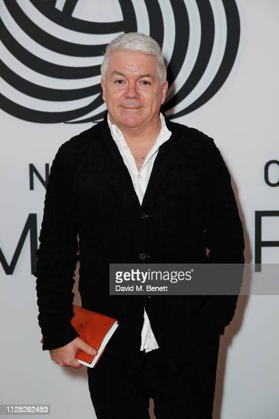 Tim Blanks attends the International Woolmark Prize 18/19 Final show during London Fashion Week February 2019 at Lindley Hall on February 16 2019 in...
