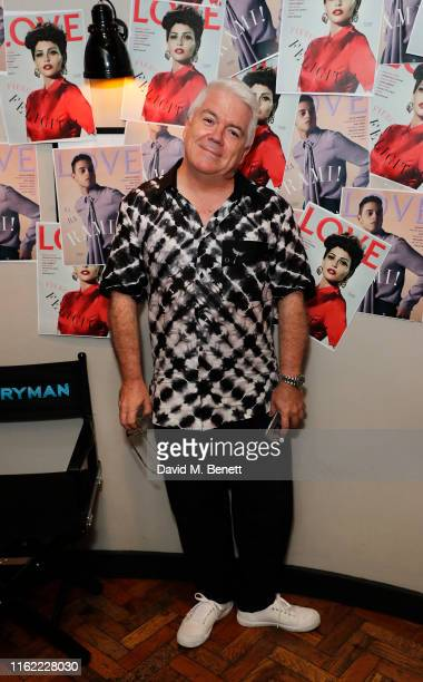 Tim Blanks attends the #MOVINGLOVE screening hosted by Derek Blasberg Katie Grand at Screen on the Green on July 15 2019 in London England