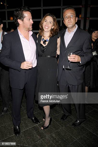 Tim Blum Amy Cappellazzo and Tom Eccles attend LEGENDS 2008 A PRATT INSTITUTE Scholarship Benefit Honoring Icons of Art and Design at Pier 61 on...