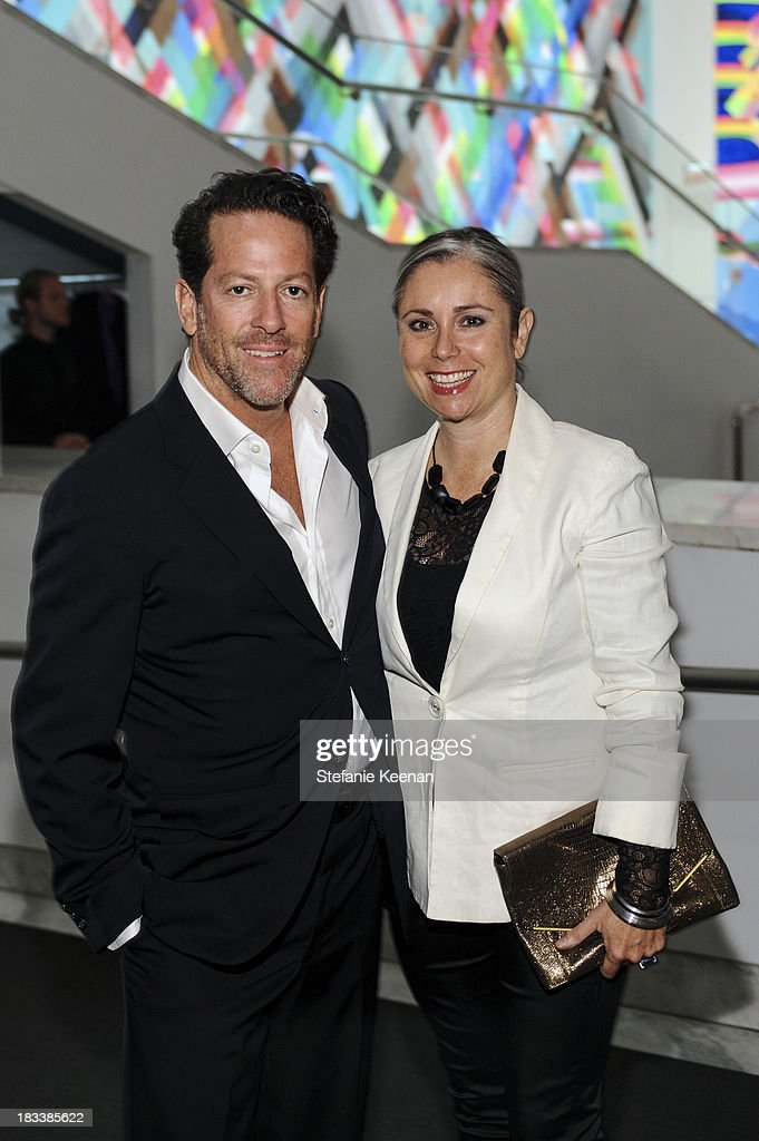 Tim Blum and Maria Blum attend Hammer Museum 11th Annual Gala In The Garden With Generous Support From Bottega Veneta, October 5, 2013, Los Angeles, CA at Hammer Museum on October 5, 2013 in Westwood, California.