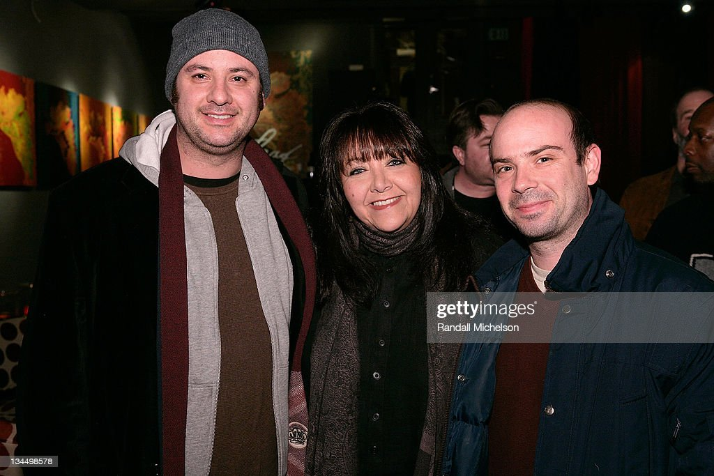 Tim Boland, Doreen Ringer Ross BMI, and Sam Retzer attends the BMI Big Crowded Room Party at the Leaf Lounge during the 2008 Sundance Film Festival on January 21, 2008 in Park City, Utah.