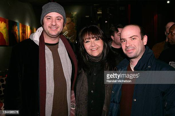 Tim Boland Doreen Ringer Ross BMI and Sam Retzer attends the BMI Big Crowded Room Party at the Leaf Lounge during the 2008 Sundance Film Festival on...