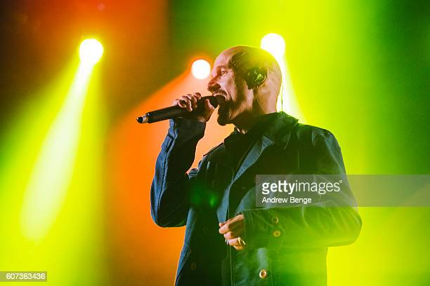 Tim Booth of James performs during OnRoundhay Festival 2016 on September 17 2016 in Leeds England