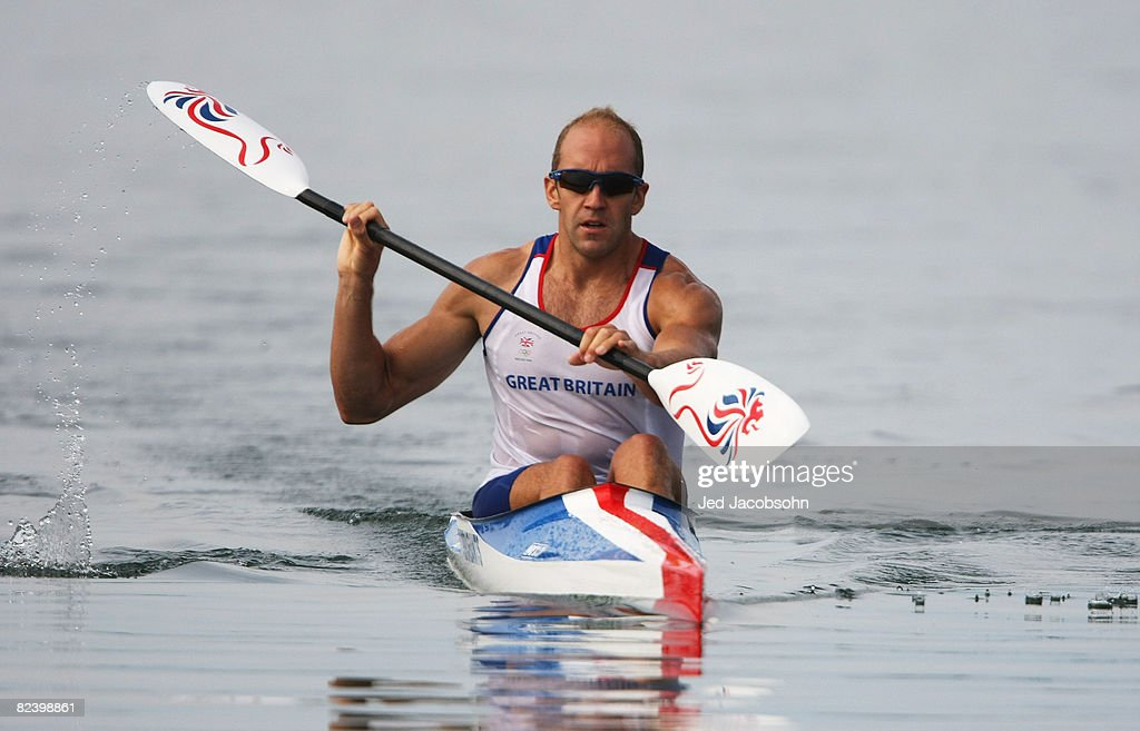Tim Brabants Of Great Britain Competes In The Kayak Single K1 1000m Mens Heat