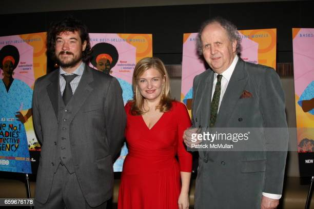 Tim Bricknell Amy Moore and Alexander McCall attend HBO Presents A Screening Of 'The No 1 Ladies' Detective Agency' at Time Warner Center on March 18...