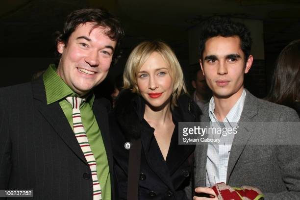 Tim Bricknell Vera Farmiga annd Max Minghella during The Weinstein Company's Breaking and Entering New York Premiere After Party at Hudson Hotel at...
