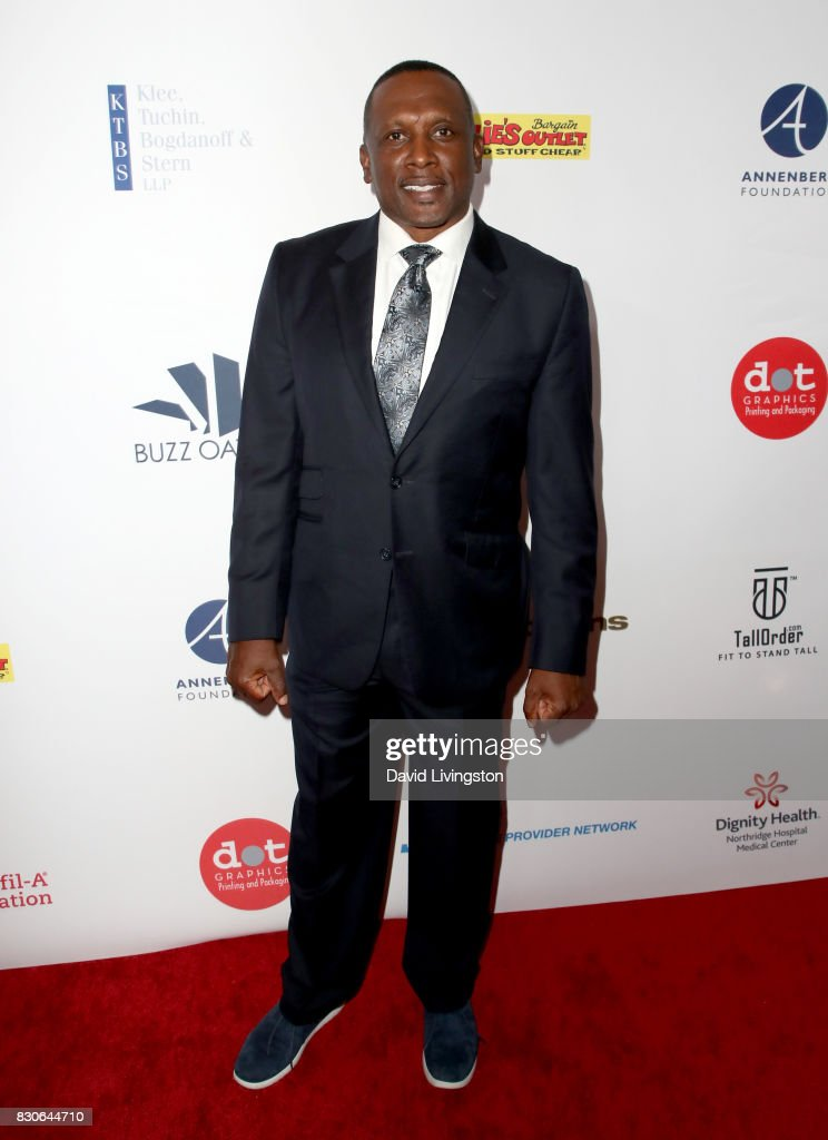 Tim Brown at the 17th Annual Harold & Carole Pump Foundation Gala at The Beverly Hilton Hotel on August 11, 2017 in Beverly Hills, California.