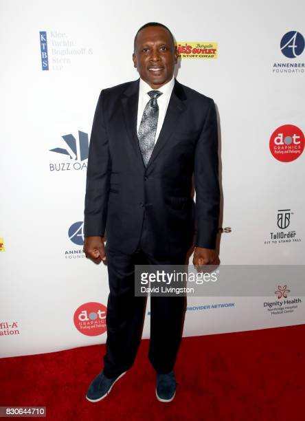 Tim Brown at the 17th Annual Harold Carole Pump Foundation Gala at The Beverly Hilton Hotel on August 11 2017 in Beverly Hills California