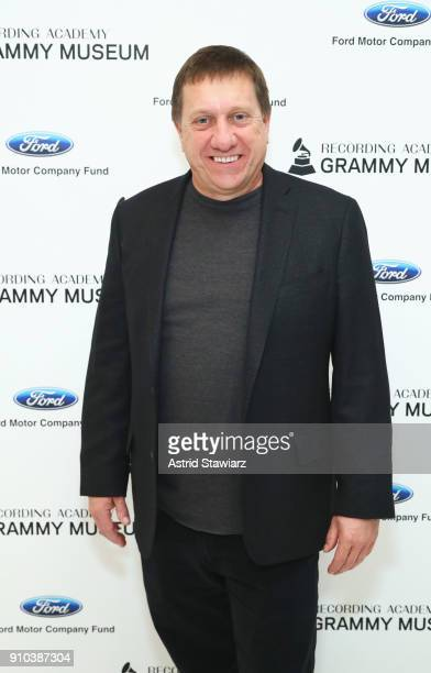 Tim Bucher poses for a photo at the GRAMMY Museum®'s ninth annual GRAMMY In The Schools® Live A Celebration Of Music Education presented by Ford...
