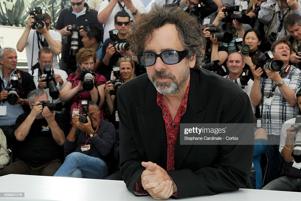 Tim Burton at the Jury Photocall during the 63rd Cannes International Film Festival.