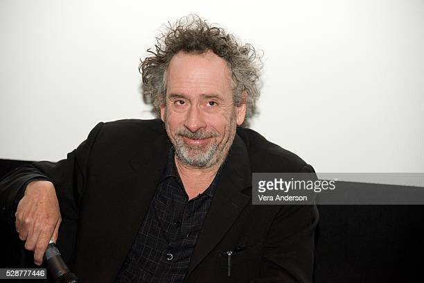 Tim Burton at the 'Miss Peregrine's Home For Peculiar Children' Press Conference at the Soho Hotel on May 6 2016 in London England