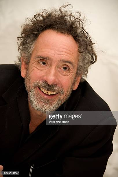 Tim Burton at the 'Miss Peregrine's Home for Peculiar Children' Press Conference at the Claridges Hotel on September 21 2016 in London England