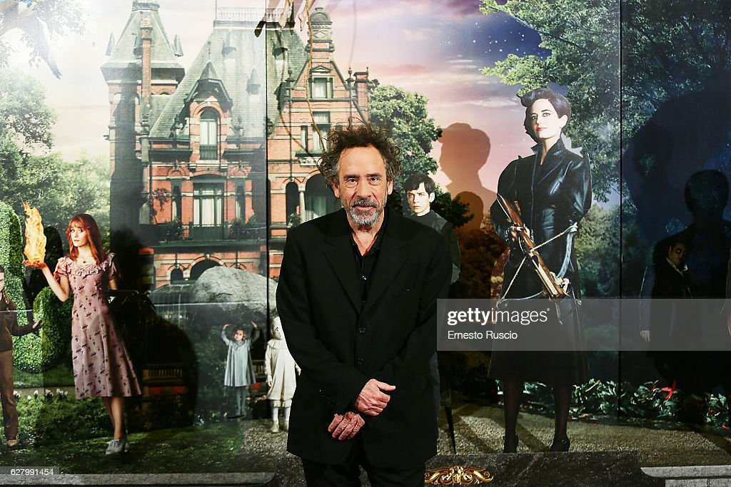 Tim Burton's 'Miss Peregrine's Home for Peculiar Children' Photocall In Rome : News Photo