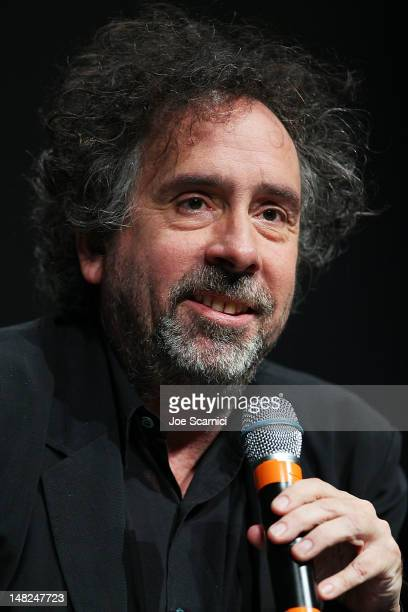 Tim Burton attends the Frankenweenie panel at ComicCon International 2012 Day 1 at San Diego Convention Center on July 12 2012 in San Diego California