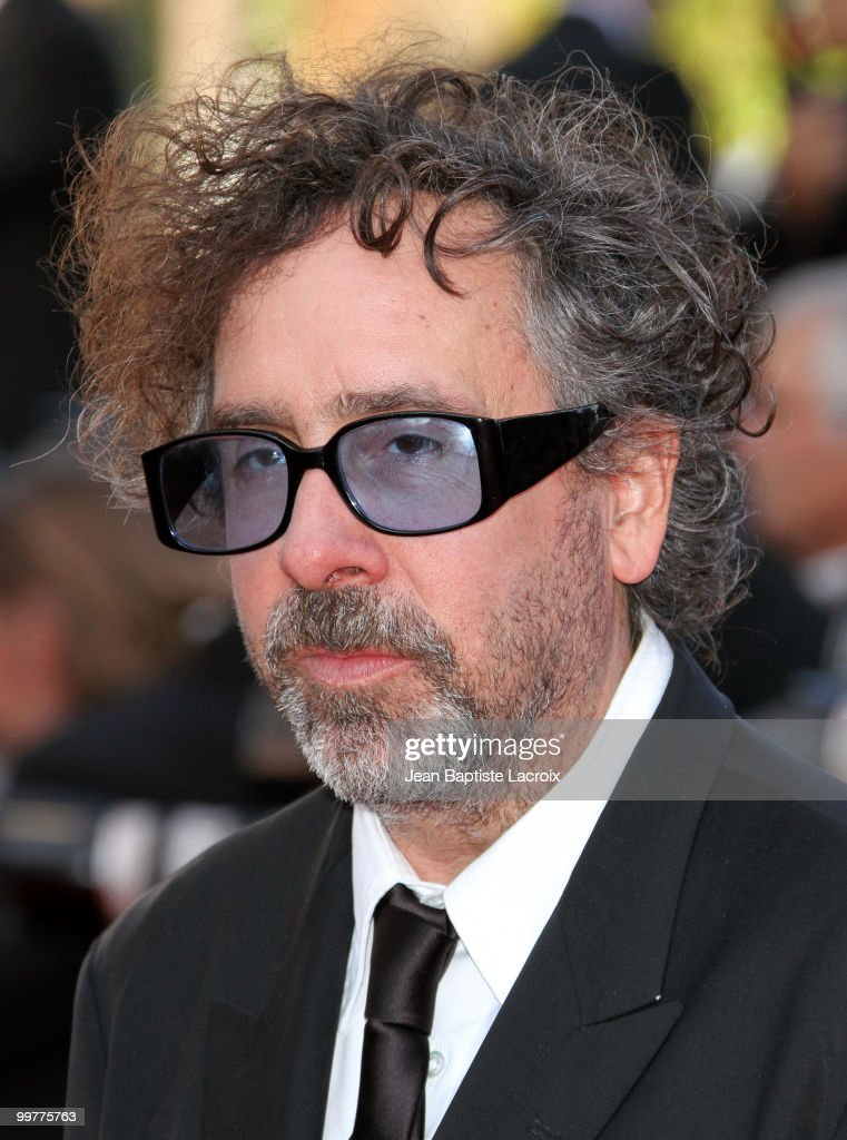 Tim Burton attends the premiere of 'Biutiful' held at the Palais des Festivals during the 63rd Annual International Cannes Film Festival on May 17, 2010 in Cannes, France.