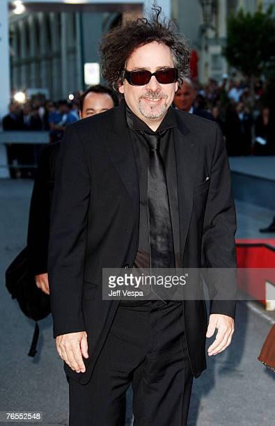 Tim Burton attends the Tim Burton Golden Lion For Lifetime Achievement Award in Venice during Day 8 of the 64th Venice Film Festival on September 5,...