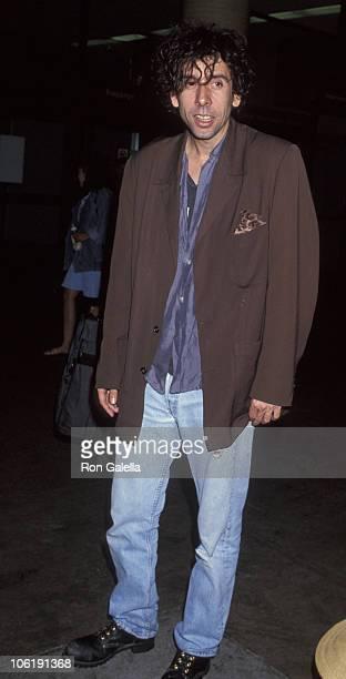 Tim Burton during Tim Burton Sighting at Los Angeles International Airport July 19 1993 at LAX in Los Angeles California United States
