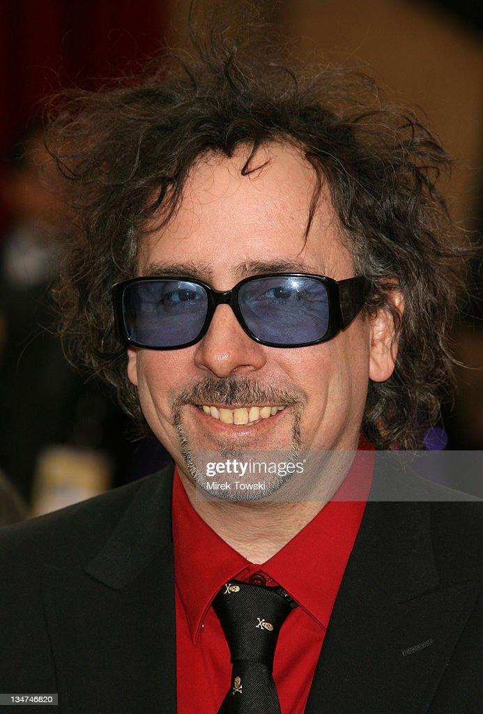 "Tim Burton, nominee Best Animated Feature for ""Tim Burton's Corpse Bride"""