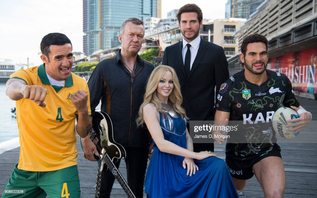 Australian Celebrity Wax Figures Step Out Ahead Of Australia Day