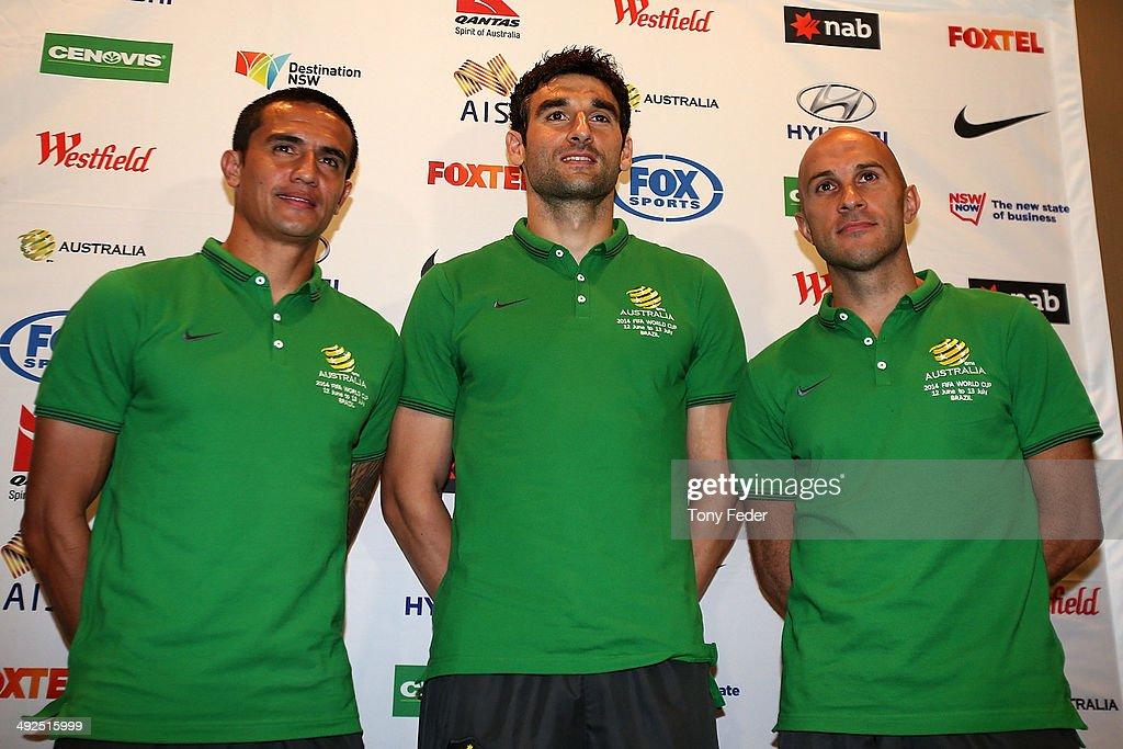 Australian Socceroos Media Announcement