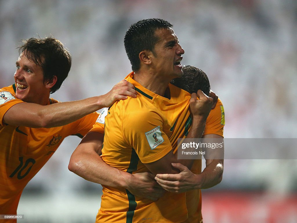 UAE v Australia - 2018 FIFA World Cup Qualifier : News Photo