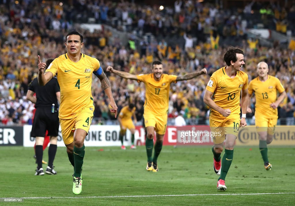 Australia v Syria - 2018 FIFA World Cup Asian Playoff: Leg 2 : News Photo