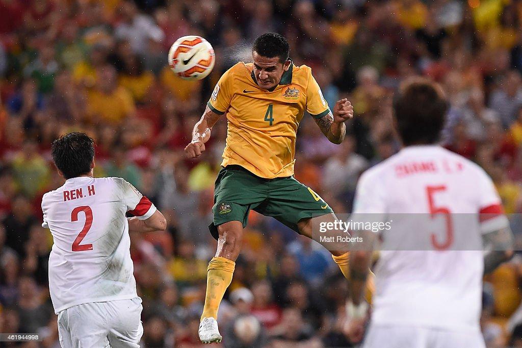 China PR v Australia: Quarter Final - 2015 Asian Cup : News Photo
