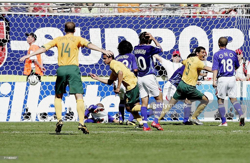 Group F Australia v Japan - World Cup 2006 : News Photo