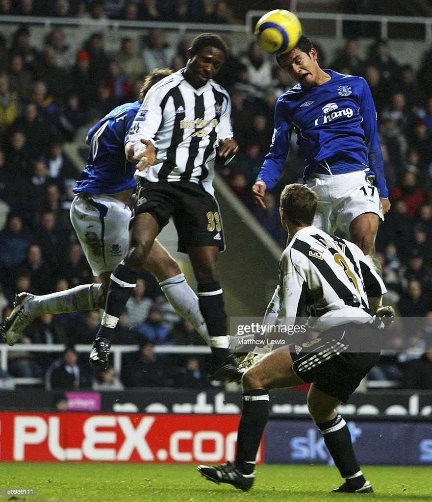 Newcastle United v Everton : News Photo