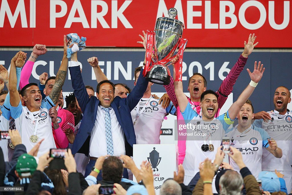 FFA Cup Final - Melbourne City v Sydney : News Photo