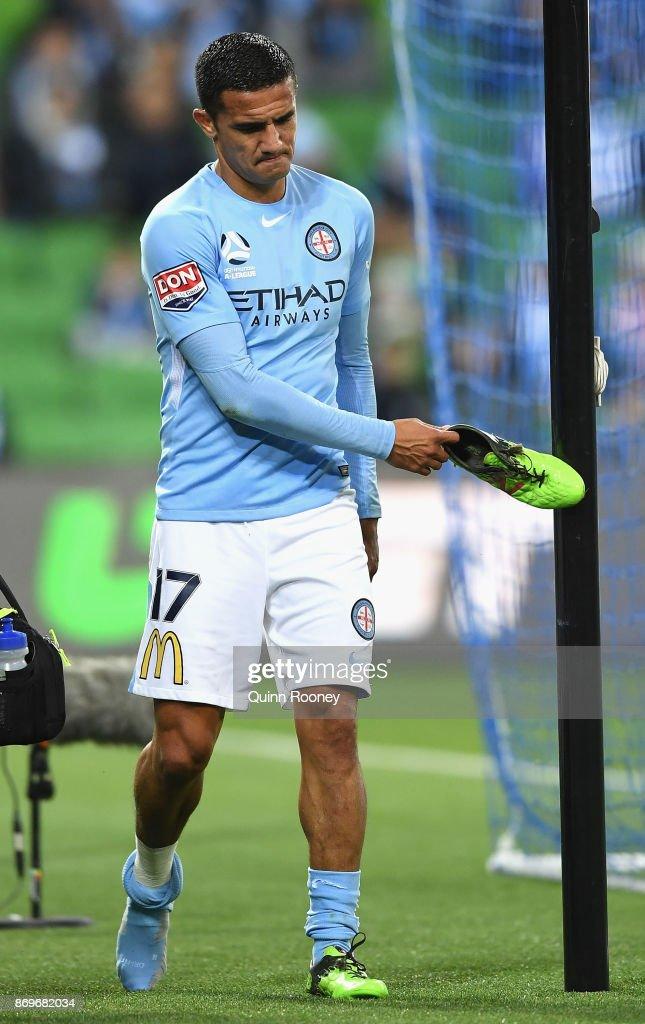A-League Rd 5 - Melbourne v Sydney : News Photo