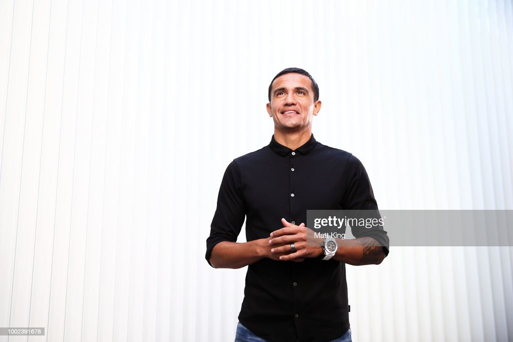 Tim Cahill Press Conference