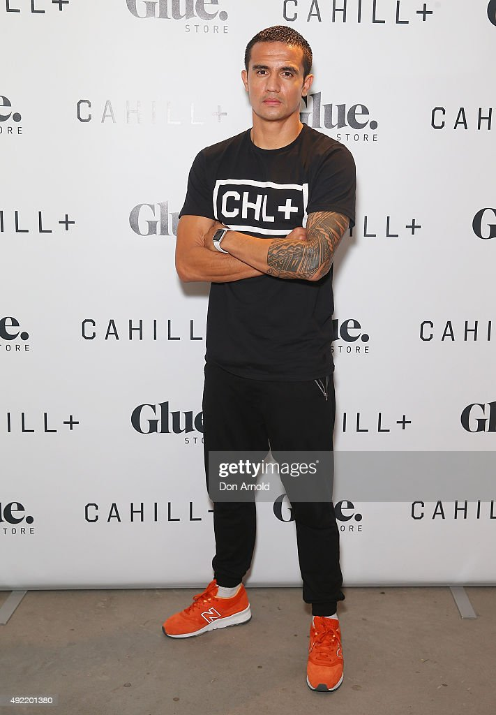 Tim Cahill Launches Cahill+ Clothing Range