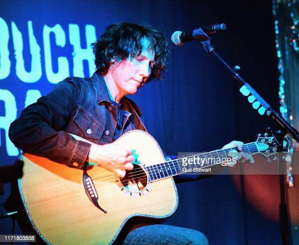 Tim Carter performs with Sergio Lorenzo Pizzorno at Rough Trade East on September 02 2019 in London England