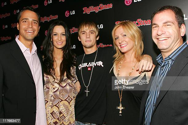 Tim Castelli Publsher Rolling Stone Angel Carter Aaron Carter Bobbie Jean Carter and Jon Maron Senior Director of Marketing LG