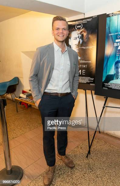 Tim Chaffee attends 7 Splinters in Time New York premiere at The Anthology Film Archives