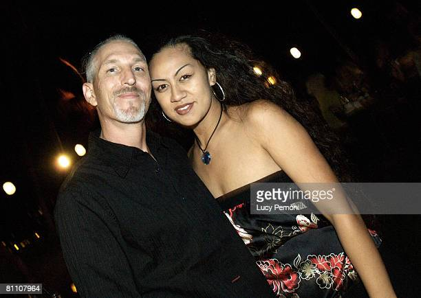 Tim Chapman and Davina Chapman at the Hilton Waikoloa Village in Waikoloa on the Big Island of Hawaii May 20 2006