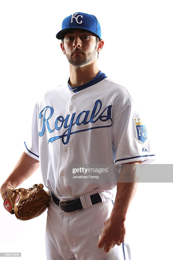 Tim Collins #76 of the Kansas City Royals poses for a portrait during Spring Training Media Day on February 23, 2011 at Surprise Stadium in Surprise, Arizona..