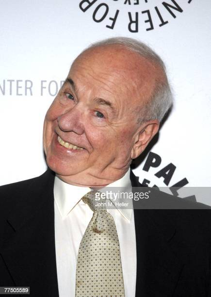 Tim Conway attends the American Masters Premiere documentary on Carol Burnett presented by and held at the Paley Center For Media on October 25, 2007...