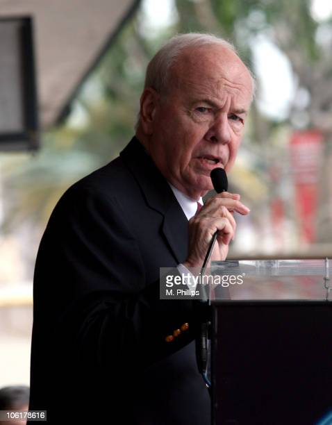 Tim Conway during James Bacon Receives Star on the Hollywood Walk of Fame at Hollywood Walk of Fame in Hollywood, California, United States.