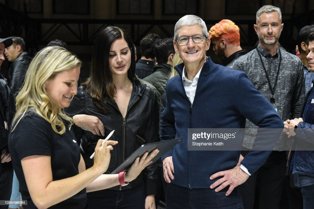 Apple Holds Launch Event In Brooklyn : News Photo