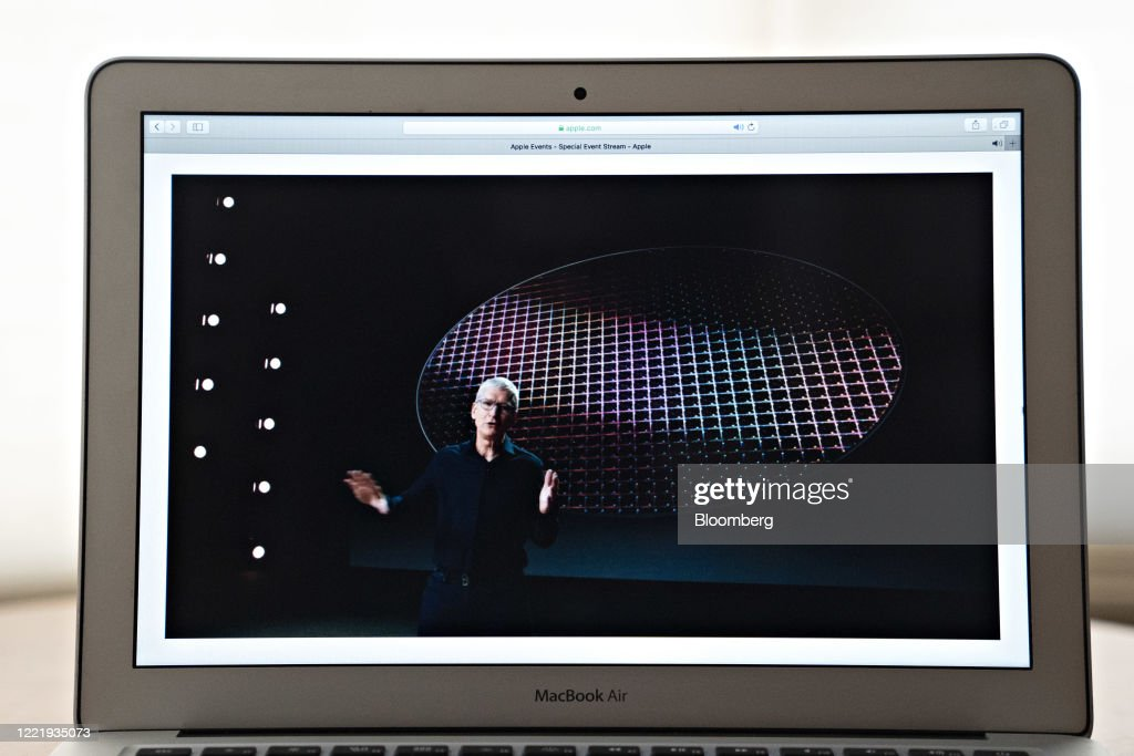 Apple Worldwide Developers Conference Holds Event Virtually : News Photo