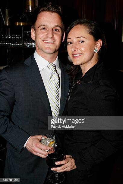 Tim Crowley and Jennifer Bell attend LEIGHTON CANDLER and FLANK DEVELOPMENT Host Cocktail Soiree Celebrating 441 East 57th Street at La Goulue on...