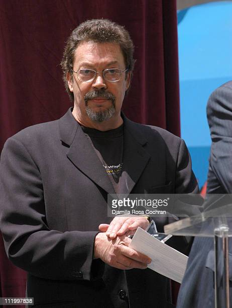 Tim Curry during 19th Annual Broadway's Stars in the Alley at Shubert Alley in New York City New York United States