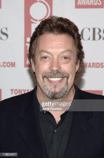 Tim Curry during 59th Annual Tony Awards 'Meet The Nominees' Press Reception at The View at The Marriot Marquis in New York City New York United...