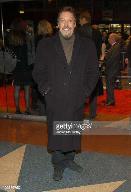 Tim Curry during Kinsey New York City Premiere Inside Arrivals at The Beekman Theater in New York City New York United States