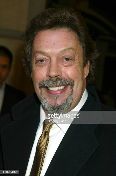 Tim Curry during Steel Magnolias Opening Night on Broadway Arrivals at Lyceum Theatre in New York City New York United States